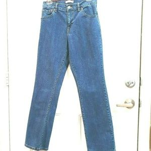 LEVIS 550 Size 8L Mid Rise Relaxed Bootcut Jeans